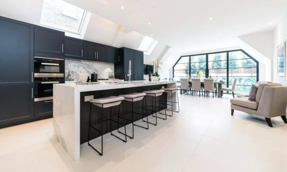 Luxury house refurbishment in London